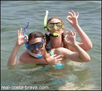 Snorkelling Costa Brava