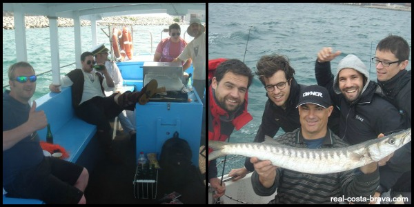 stag party deep sea fishing barcelona