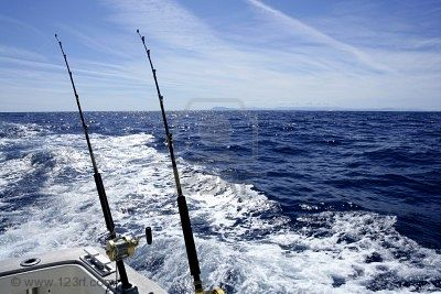 deep sea fishing spain
