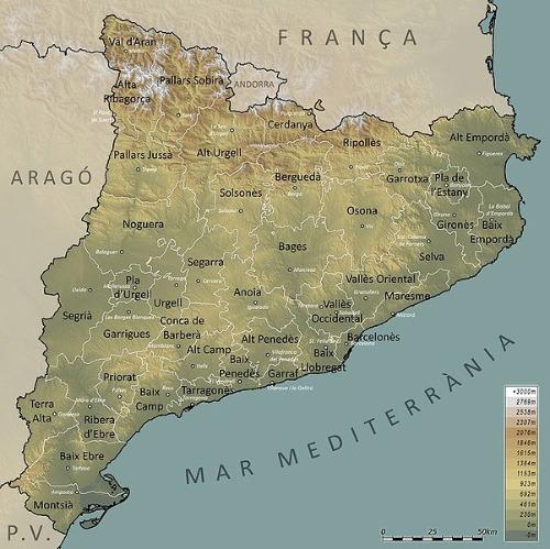 Regions Catalonia