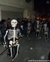 Festival Catalonia Verges Dance of the Dead