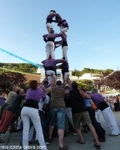 Festival Catalonia Human Towers (castells)
